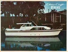 Classic Wooden Boats, Cabin Cruiser, Chris Craft, Motor Yacht, Power Boats, Yachts, Constellations, Crafts, Vintage