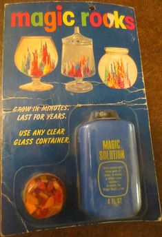 Magic Rocks Kit - Rocks and Magic Solution 1970s Toys, Retro Toys, Vintage Toys 1970s, 1980s, This Is Your Life, Childhood Days, Vintage Games, Vintage Ideas, Vintage Stuff