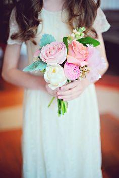 sweet junior bridesmaid bouquet~
