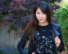 Asteroids meets Star Wars in Basic Blacks and Whites | the stylish geek