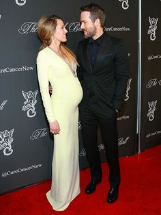 Star Tracks: Tuesday, October 21, 2014 | TWO CUTE | Mom-to-be Blake Lively and husband Ryan Reynolds warm up a cold New York City night with their adorableness while arriving to the Angel Ball at Cipriani Wall Street on Monday.