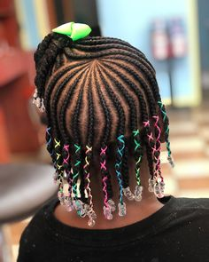 Clean parts consistent braids no unbearable tension edge- friendly and last 2 Cute Little Girl Hairstyles, Little Girl Braids, Black Girl Braided Hairstyles, Cute Hairstyles For Kids, Girls Natural Hairstyles, Baby Girl Hairstyles, Braids For Kids, Girls Braids, Natural Hair Styles