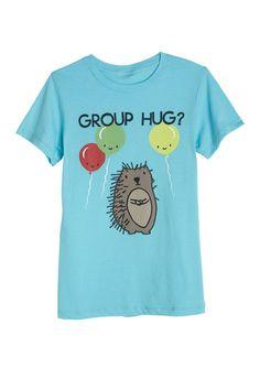 dELiAs > Group Hug Tee > graphic tees > funny Lol