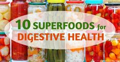 Making these 10 digestive-health superfoods mainstays of your diet can help get rid of troublesome gastrointestinal issues. http://articles.mercola.com/sites/articles/archive/2015/07/27/10-superfoods-for-digestive-health.aspx