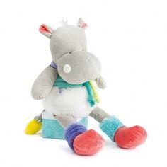Découvrez la collection Doudou et compagnie>Tropicool>Hippo Smurfs, Dinosaur Stuffed Animal, Teddy Bear, Toys, Animals, Collection, Activity Toys, Animales, Animaux