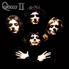 Queen II by Mick Rock. Photographer known for his album covers and portraits of bands and artists.