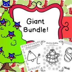 Christmas in July HUGE Activity Bundle  This is a HUGE bundle consisting of both my Christmas Activity Bundle and Nativity Activity Bundle.  With 799 pages in total this bundle includes the following; Christmas Bundle; * Numeracy Worksheets * Fine Motor Skills * Literacy Worksheets * Mazes * Spelling Boards/Tracting Boards * Word Puzzles * Word Families * Jigsaws  * Color by Number * Word Search * Code Word Cracker * Word to Pic * Counting Task Cards  Nativity Bundle; * Nativity Flashcards…