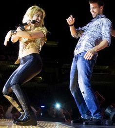 #Shakira y #Piqué en concierto