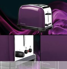Best Purple Kitchen Accessories And Decor Gadgets #prplkitchen Gorgeous Purple Kitchen Appliances Design Ideas