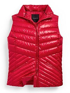 Talbots Chevron Quilted Puffer Vest - http://www.darrenblogs.com/2017/02/talbots-chevron-quilted-puffer-vest/