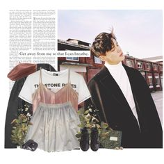 Dean: get away from me so that i can breathe. by yxing on Polyvore featuring Topshop, A Day in a Life, T By Alexander Wang, American Apparel, NIKE, Chanel, Accessorize, Pier 1 Imports, kpop and dean