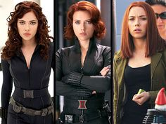 Black Widow - Iron Man 2, The Avengers, and upcoming movie Captain America 2.