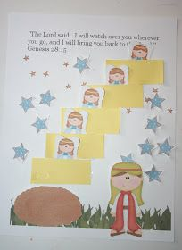 Our Country Road: Bible Activity Book: Jacob's Ladder FREE Printable!!