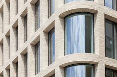 Beautiful facade in Petersen Tegln Columba brick by Piercy&Company.