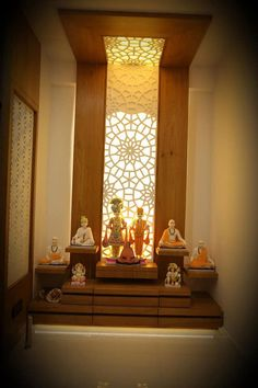 Modern Interior, Home Interior Design, Home Decor Hooks, Pooja Room Design, Temple Design, Space Interiors, Pooja Rooms, Center Table, Sofa Design