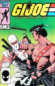 gi joe cover marvel number one | GI Joe (1982 Marvel) comic books