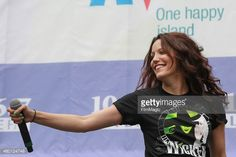 Caroline Bowman from 'Wicked' performs on stage during 106.7 Lite FM's Broadway In Bryant Park 2015 held at Bryant Park on July 9, 2015 in New York City.