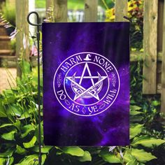 Harm None Do As Ye Will Flag – WitchCraft 101