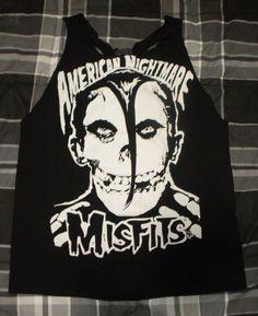 misfits+american+nightmare | Misfits // American Nightmare // Racerback Tunic // Mini Dress