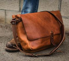 The Vintage Messenger Bag by Whipping Post