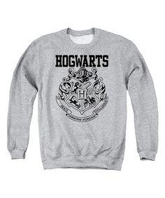 Love this Harry Potter 'Hogwarts' Athletics Sweatshirt - Men's Regular on #zulily! #zulilyfinds