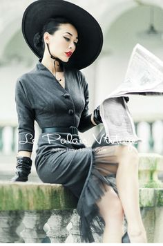 Find More Dresses Information about FREE SHIPPING Le Palais Vintage autumn and…