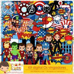 Kit digital Os Vingadores