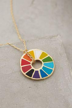 Colorwheel Pendant Necklace