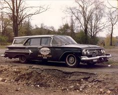 "NYC 1960 Chevrolet Kingwood  ""Hi-Rail"" Station Wagon"