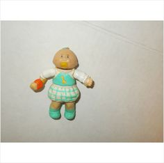 CABBAGE PATCH KID! PVC FIGURE!!!! BABY TOPNOT LIGHT TEAL!!! GIRL!
