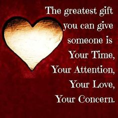 i always say this… time… the greatest gift… {♡m♡}