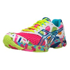 Asics Gel Noosa Tri 7 - Womens Running Shoes They GLOW IN THE DARK!!! Want them now.