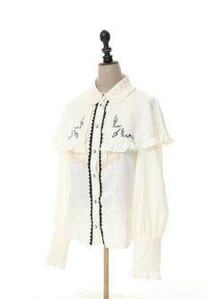 axes femme online shop|【先行受注】刺繍入りケープ付2wayブラウス