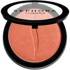 SEPHORA COLLECTION Colorful Face Powders – Blush, Bronze, Highlight, &... ($14) ❤ liked on Polyvore featuring beauty products, makeup, cheek makeup, blush, powder blush, highlight blush and sephora collection