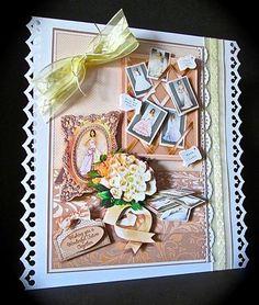 Card Gallery - Wedding Preparation A5 Decoupage Mini Kit