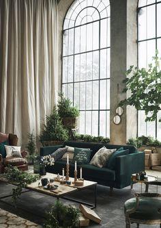 botanical christmas #green #christmas