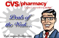 """CVS """"best of"""" Deals of the Week (4/26 to 5/2)   The """"Coupon Hubby"""" - Coupon savings for beginners and advanced shoppers"""