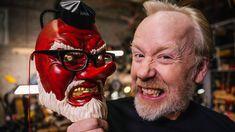 Inside Adam Savage's Cave: Awesome Tengu Masks!