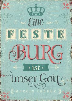 Postkarte - Feste Burg
