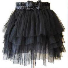 lovely-Full-Tutu-Tulle-Tier-5-Layer-Mini-skirt-Halloween-Costumes-Party-dress