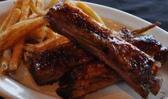 Kids Meal Ribs in the Smokehouse at Route 46. #Route46 #Smokeshoue #Ribs #Kids