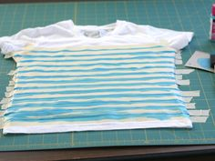 Make striped shirts!