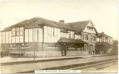 SUDBURY, Ontario -  vintage photographs - AOL Image Search Results Canadian Pacific Railway station