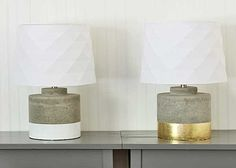 how to gold leaf: a lamp makeover http://www.theshabbycreekcottage.com/2014/05/how-to-gold-leaf-anything.html