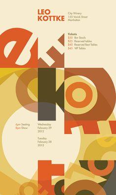 Type as Image Poster Design