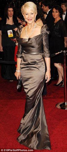 I adore Helen Mirren she is SEXY. I definitely want what she's got. wow!