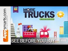 More Trucks by Duck Duck Moose [firetruck,monster truck, flatbed truck,crane,bulldozer and more] - YouTube