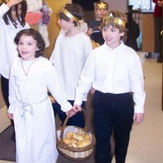 12/13/2012: Santa Lucia Day: Celebrated at the Chicago Waldorf School