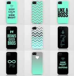Teal cases
