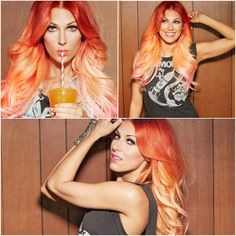 Love love love!! Bonnie McKee's Sunset Ombre